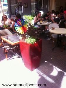 tel aviv gay pride restaurant
