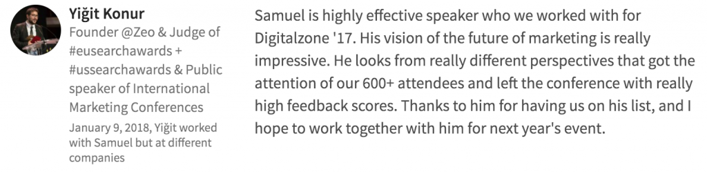 digitalzone recommendation