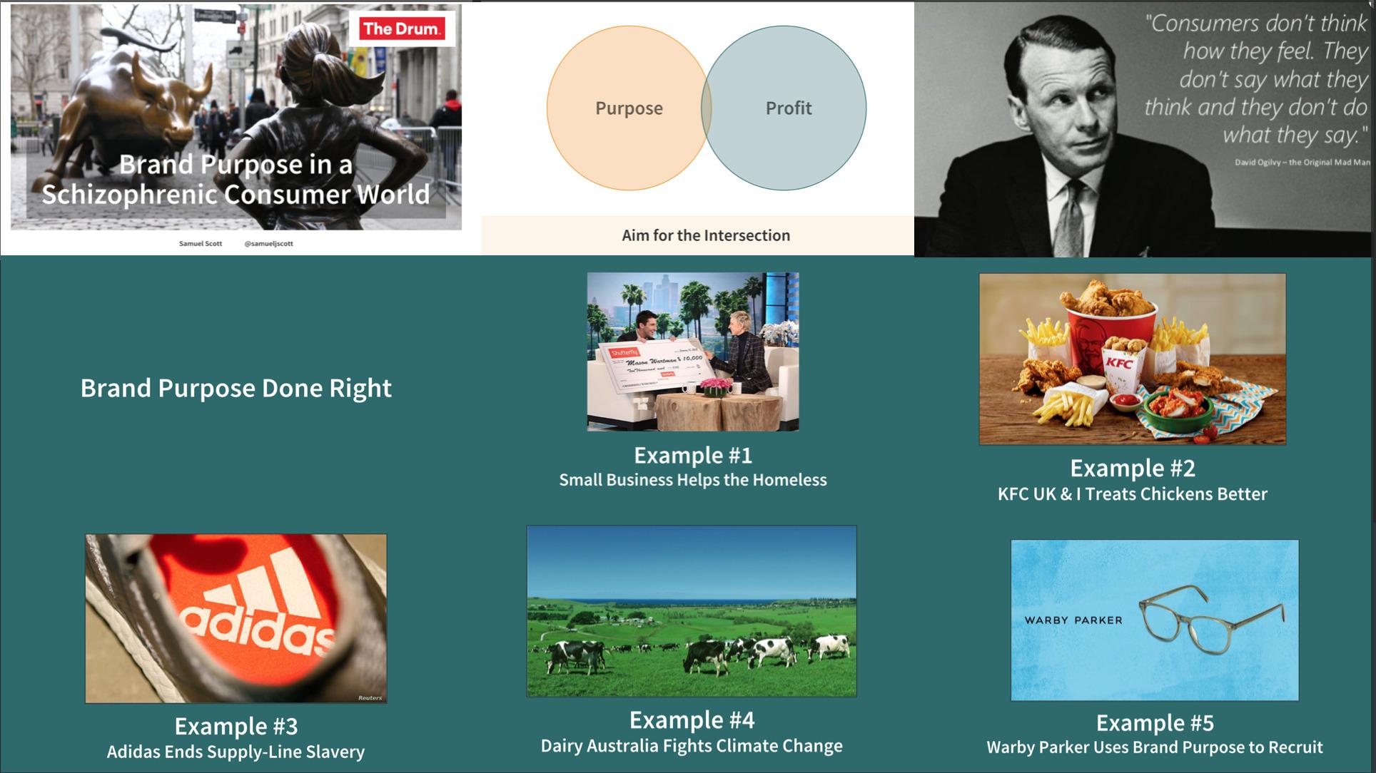 brand purpose keynote talk